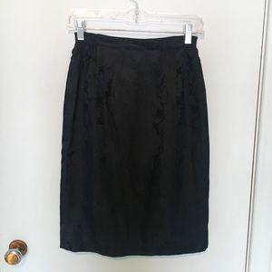 Vintage Silky Skirt